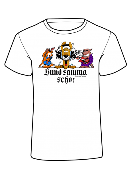 Kids' Design T-Shirt - Hund samma scho! Cool ey!