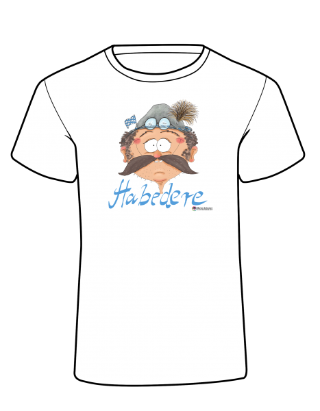Kid's Design T-Shirt - Habedere Blau Oktoberfest Bayer Comic