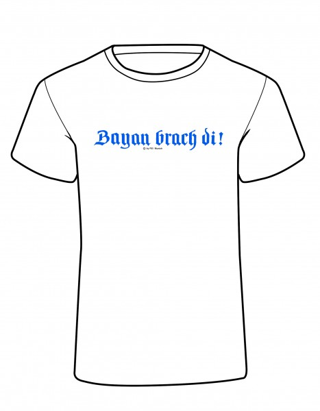 Kids' Design T-Shirt – Bayan brach di!